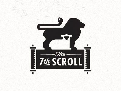Dribbble - The 7th Scroll by Mike Bruner #logo