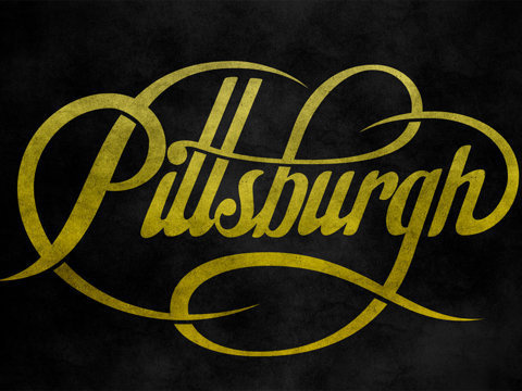 Ryan Hamrick | Pittsburgh Script #lettering #ryan #swash #hamrick #type