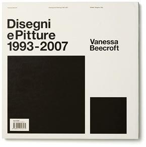 Vanessa Beecroft VBDP - Experimental Jetset #white #beecroft #experimental #black #cover #jetset #vanessa #typography