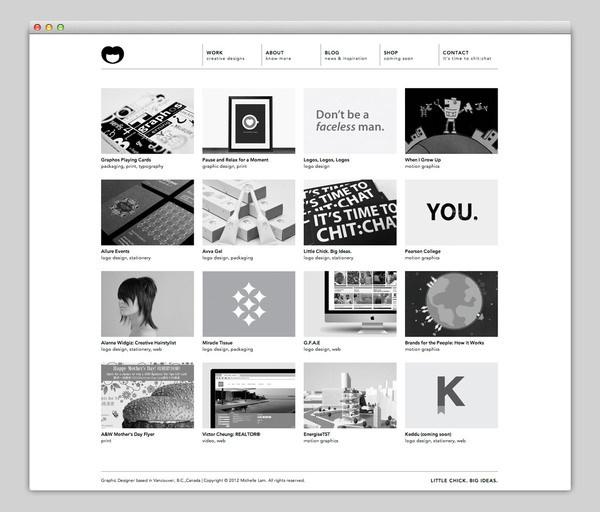 Michelle Lam #site #portfolio #design #website #web