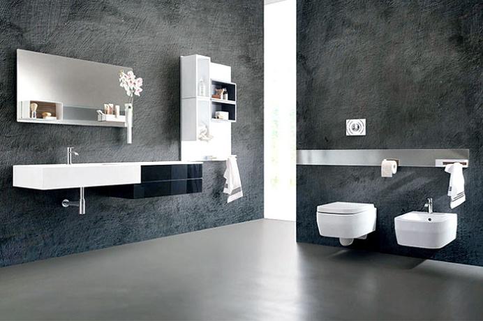 Magnetika Wall System – a New Way to Furnish a Bathroom - #bathroom, #bath, #interior, #decor