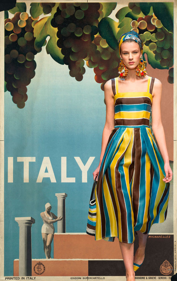 Miss Moss : Dulce Dolce #fashion #italy