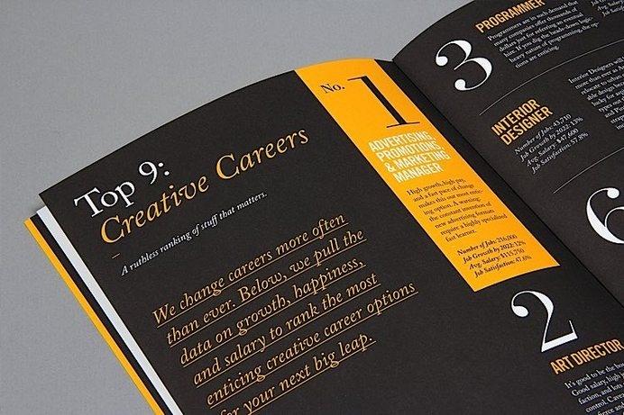 Editorial Design Inspiration: 99U Quarterly Mag No.4 #editorial design #spread #magazine