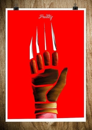 FREDDY - Rocco Malatesta Posters & Prints #malatesta #graphic #rocco #freddy #illustration #poster #hands