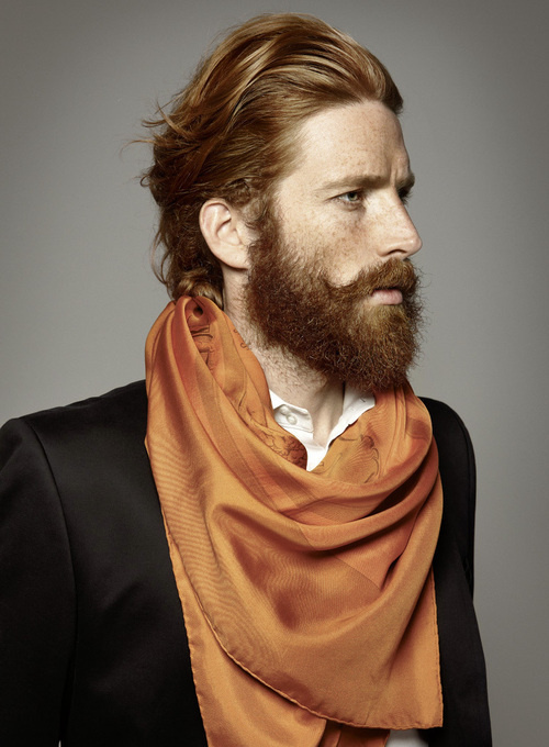 HUNDRED GRAMS #redhead #ginger #orange #style