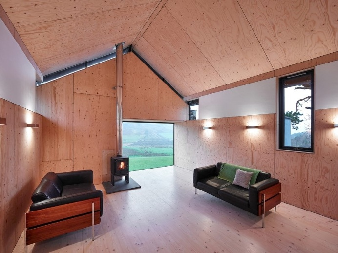Old mill transformed into a modern holiday home #architecture