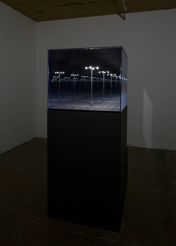 Infinite Mirrored Dioramas by Guillaume Lachapelle