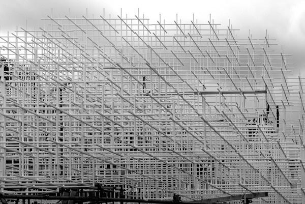 CJWHO ™ (Under Construction: Serpentine Gallery Pavilion |...) #installation #design #pavilion #architecture #art #serpentine