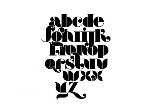 Lovechild - Typeface on the Behance Network #typography