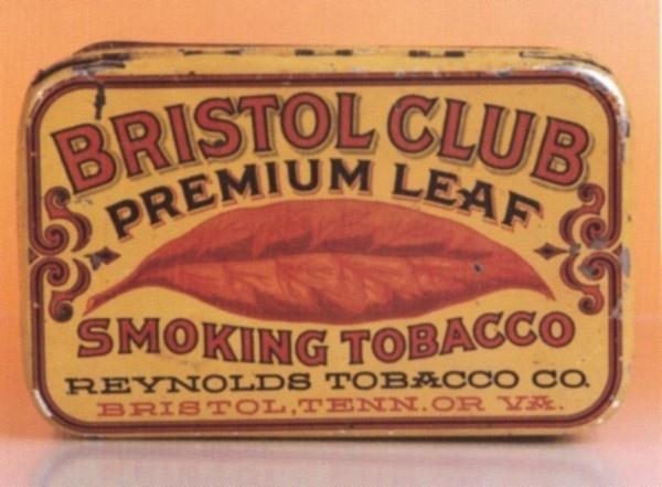 bristol club premium leaf tin #design #tin #vintage #tobacco #radness #typography