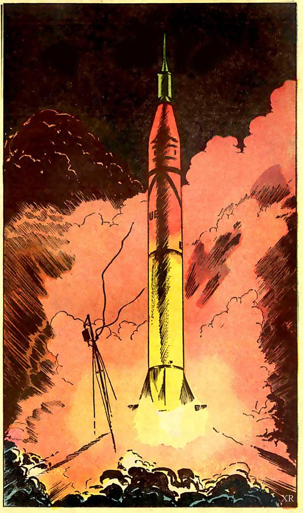 ... Redstone launch   Flickr Photo Sharing! #illustration #rocket