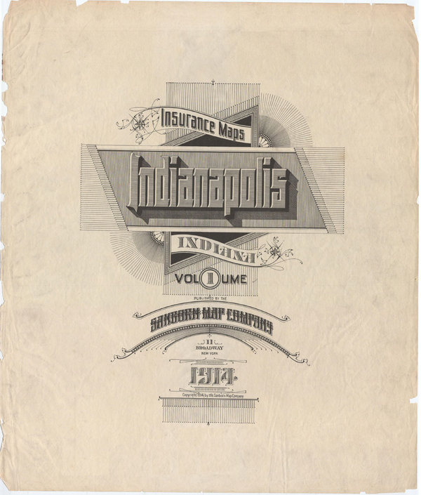 Sanborn Type maps www.mr-cup.com/blog.html #sanborn #vintage #type #maps #typography