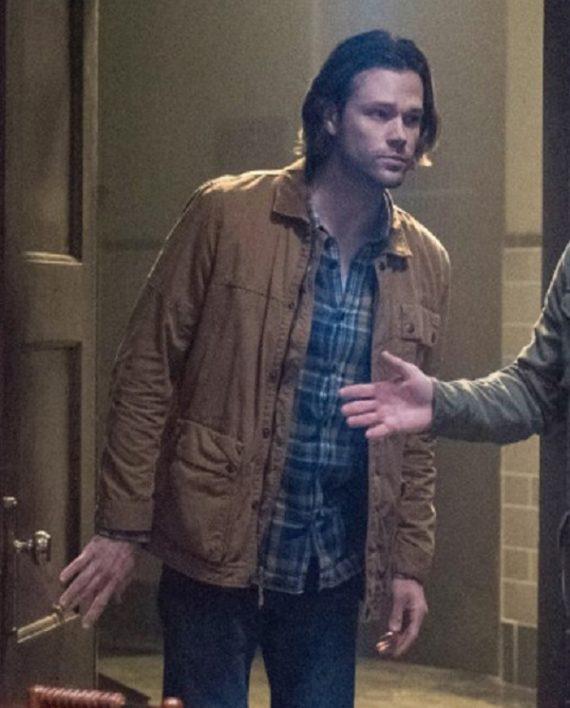 Supernatural Sam Winchester Cotton Jacket (3)