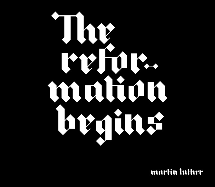 Luther | Blackletter Typeface on Behance
