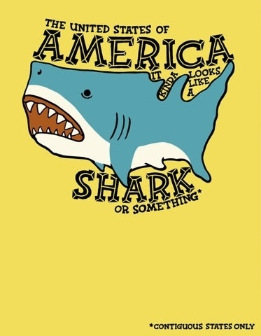 FFFFOUND! | ringos | Society6 #america #illustration #map