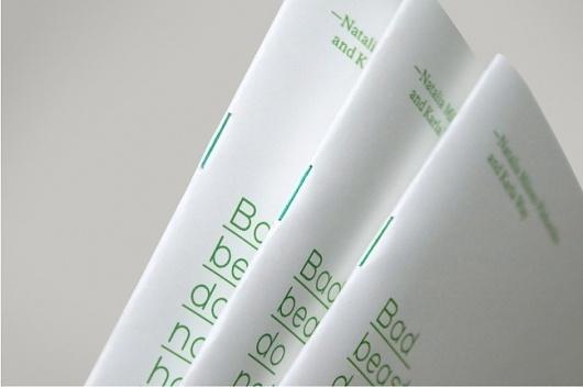 Hofstede Design #binding #grid #booklet #typography