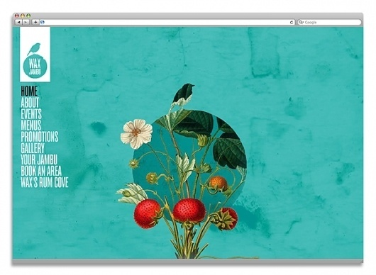 WAXJAMBU – Designed for Studio Output on Branding Served #website #illustration
