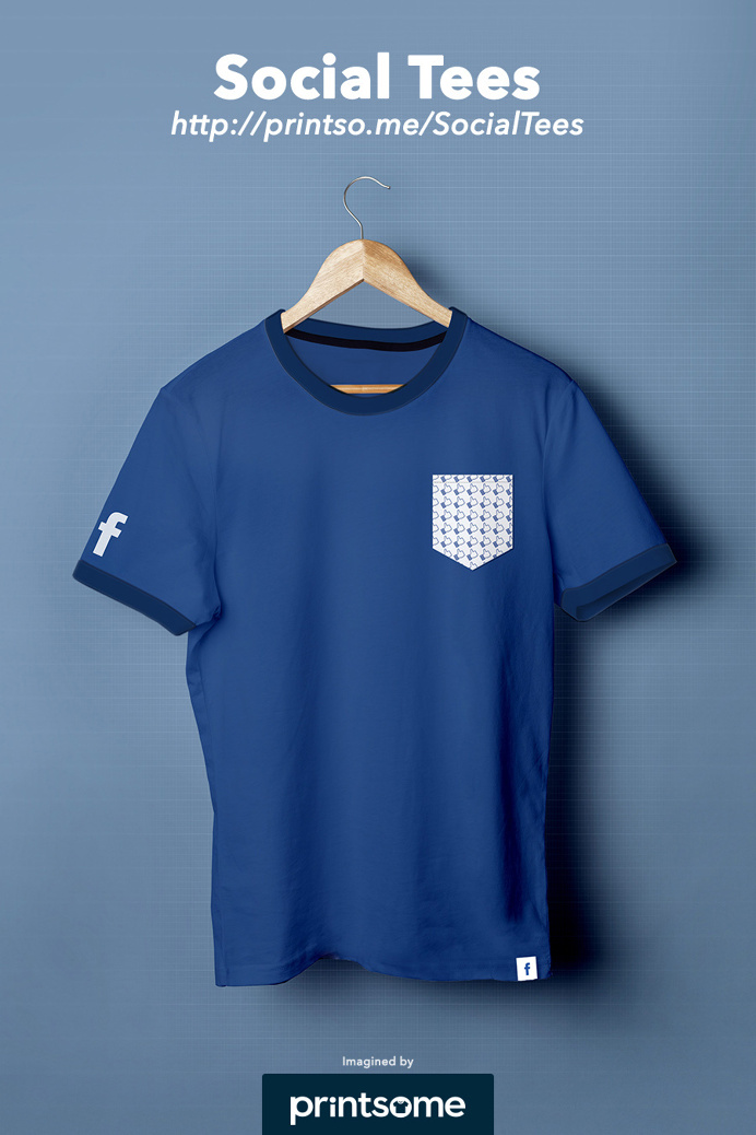 #Facebook #Social #Tee #tshirt #clothing #design