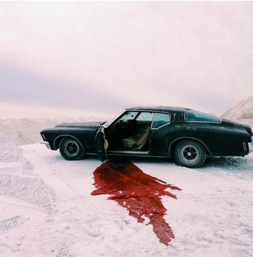 blood #blood #car