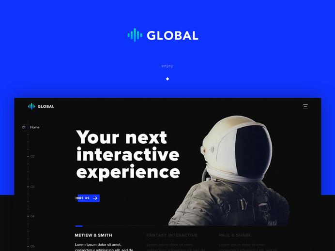 Minimalistic Portfolio Website Template #minimalistic #portfolio #inspiration