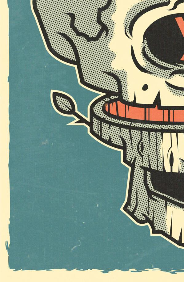 COVENANT OF IRON on Behance #vector #print #retro #ilustracin #illustration #poster #skull