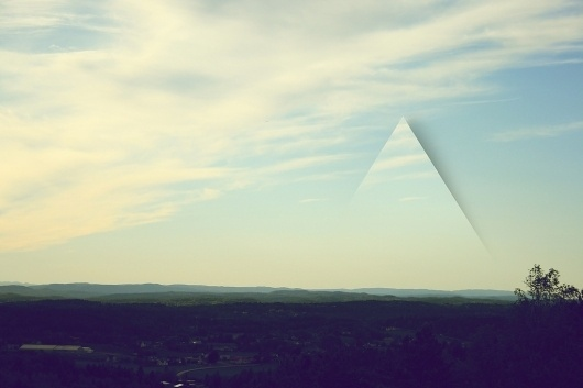 All sizes | I see them edges | Flickr - Photo Sharing! #sky #triangle #photograph #landscape