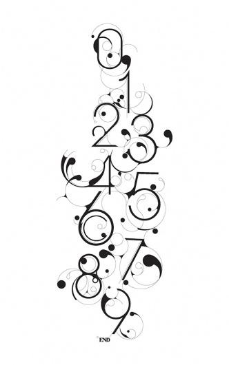 BLOOB Typography – Typography inspiration on MONOmoda #typography