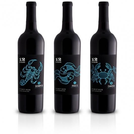 anchalee.me #packaging #anchalee #black #wine #chambundabongse