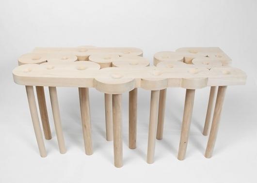 christopher kurtz: redemption table #design #wood #furniture #kurtz #art #table #christopher #work