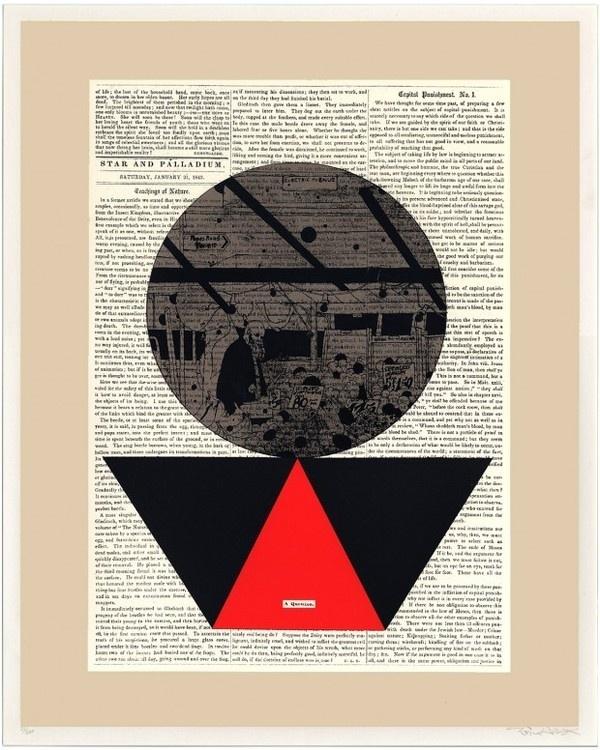 http://www.evanhecox.com/ #urban #newsprint #print #graphic #art