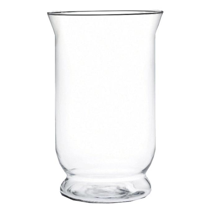 Traditional Glass Hurricane, 24.5 x 15.5 cm