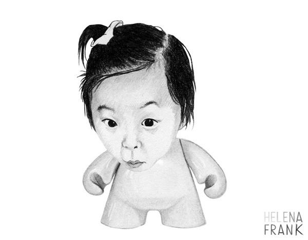 Illustrations by Helena Frank #illustration #art