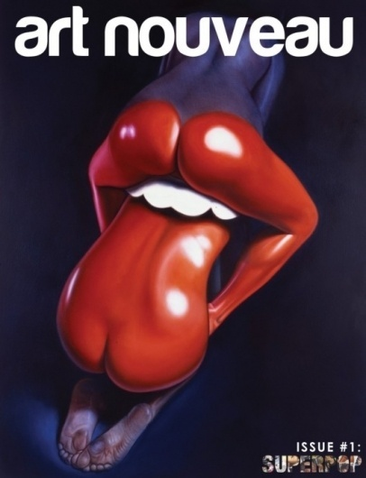 Piccsy :: Image Bookmarking :: Art Nouveau: Super Pop #illustration