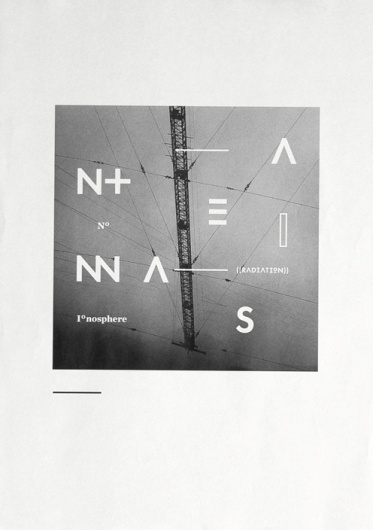 antennas — typography - Astronaut #abstract #poster