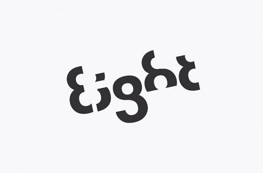 Stylo Design - Design & Digital Consultancy - Eight #stylo #witty #branding #design #eight #logo #identity #type