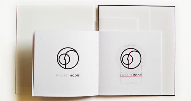 Project Moon brand identity #identity