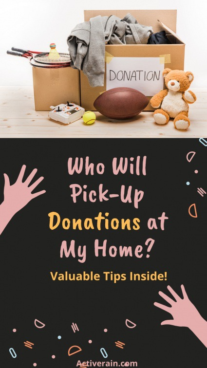 What Charities Will Pick Up Donations at My Home