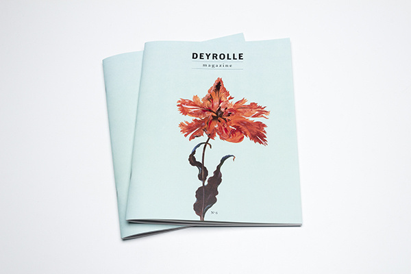 Deyrolle magazine on Behance #flower #design #graphic #editorial