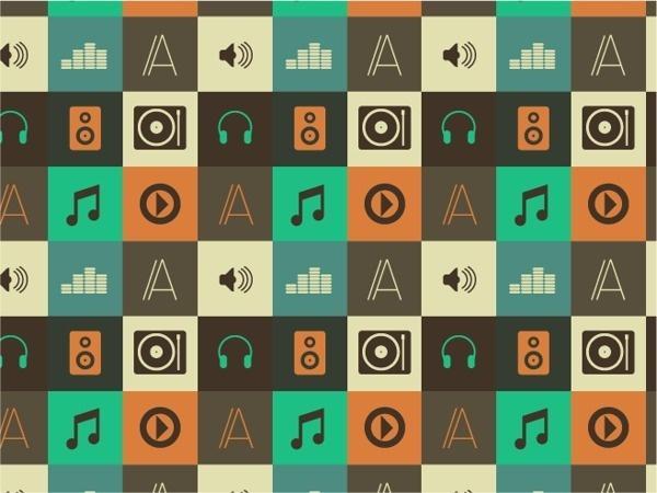 AM 1000 on the Behance Network #music #retro