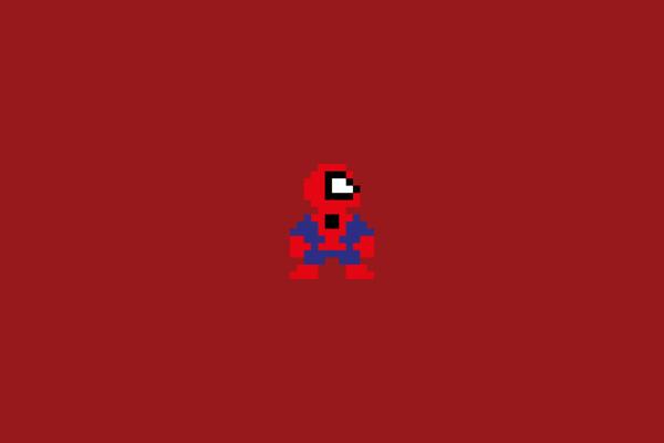 Pixel Heroes #hero #spiderman #pixel #8bit