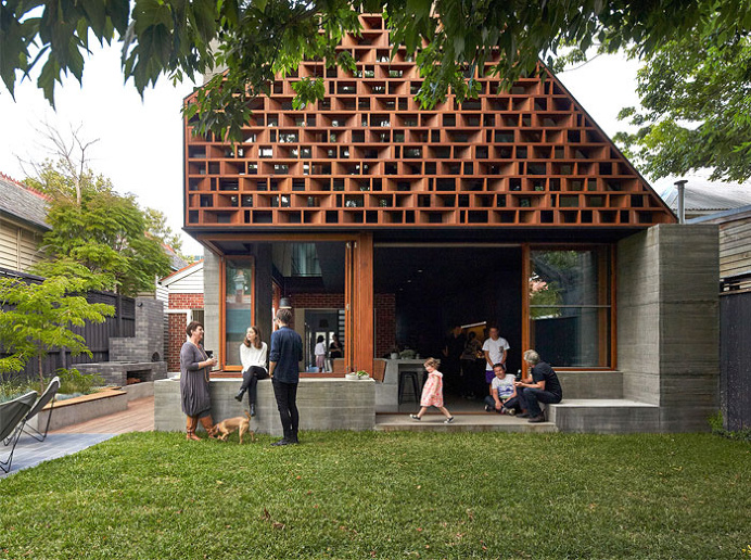 MAKE Architects Designed a Unique and Full with Light Local House - #architecture, #house, #housedesign