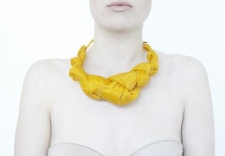 akainka.com - INKA knot #knot #sunshine #yellow #jewellery #necklace #fashion