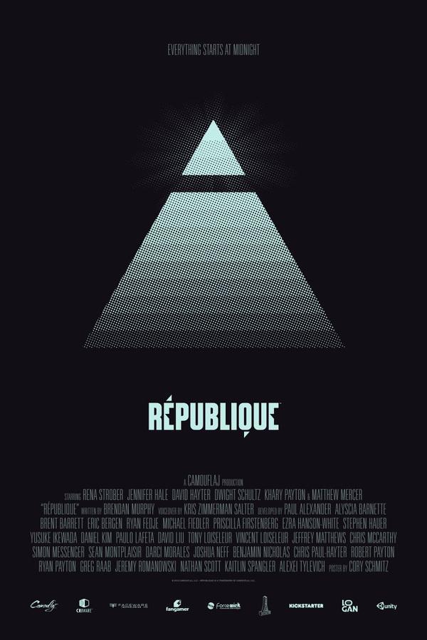République Launch Materials Cory Schmitz #rpublique