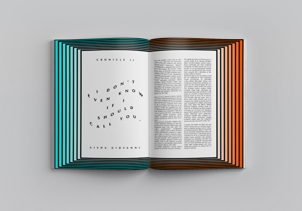 FLURBUR Mag on Editorial Design Served #editorial #magazine