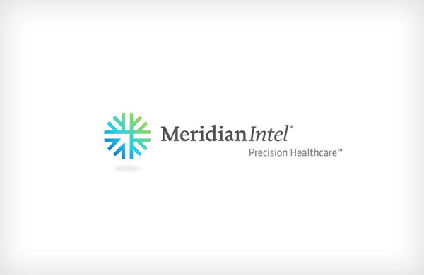 meridian intel logo #logo #design