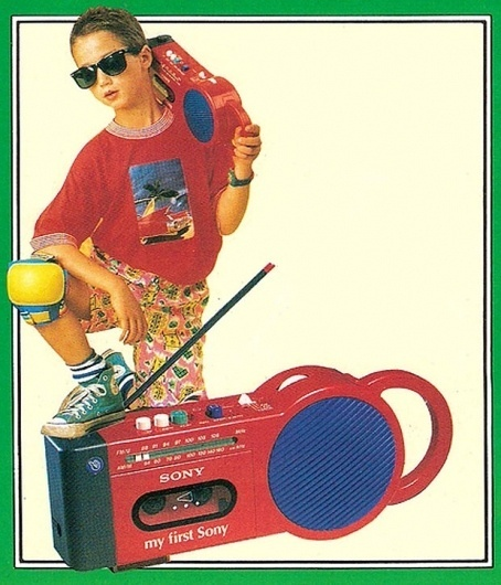 Blogs   Lifelounge #radio #bright #colors #1980s #awesome