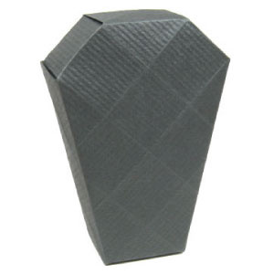 How to make an origami coffin for Halloween (http://www.origami-make.org/howto-origami-halloween.php)