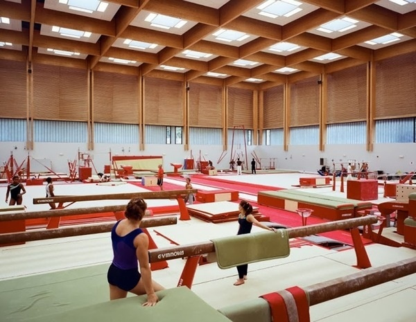 Institut national du sport et de l'éducation physique #interiors #spaces #gym