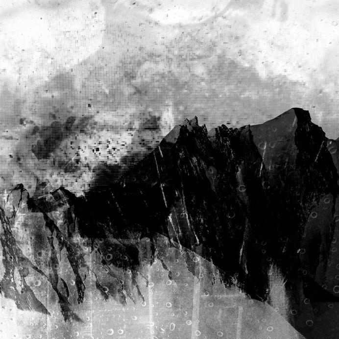 MEGACITY FALLING 03 #white #black #johansson #digital #art #and #daniel