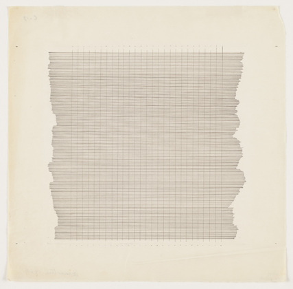 Agnes Martin. Untitled. 1960 #agnes #martin #minimal #painting